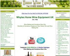 Whytes Home Wine Equipment