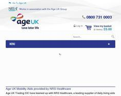 AgeUK Mobility Aids