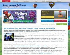 Aerosaurus Hot Air Balloons