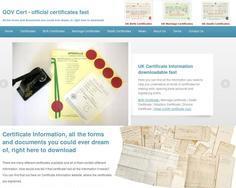 Gov Certificates