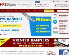 HFE Signs, Banners & Flags