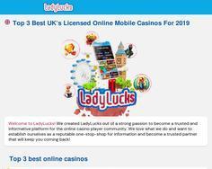 LadyLucks Mobile Casino
