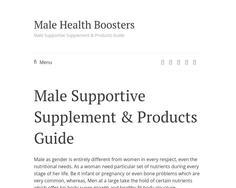 Male Health Boosters