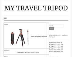 My Travel Tripod