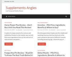 Supplements Angles