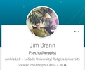 Dr Jim Brann. Predator, alcoholic, drug addict posing as a psychotherapist